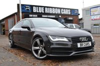 USED 2014 14 AUDI A7 3.0 TDI QUATTRO S LINE BLACK EDITION 5d AUTO 245 BHP VERY HIGH SPEC, HEADS UP + MORE