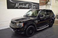 USED 2010 60 LAND ROVER RANGE ROVER SPORT 3.0 TDV6 HSE 5d AUTO 245 BHP NAV - LEATHER - TV - 360 CAMERAS - PRIVACY - SIDE STEPS - HARMAN KARDON SPEAKERS