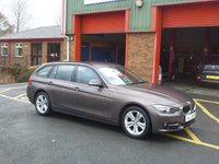 2015 BMW 3 SERIES 2.0 318D SPORT TOURING 5d 141 BHP £16450.00