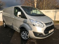 USED 2015 15 FORD TRANSIT CUSTOM 290 2.2 155 BHP  LIMITED L2 HI **70 VANS IN STOCK**