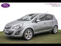 2012 VAUXHALL CORSA 1.2 SXI AC 5d 83 BHP £3995.00