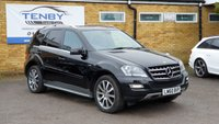 2010 MERCEDES-BENZ M CLASS 3.0 ML300 CDI BLUEEFFICIENCY GRAND EDITION 5d AUTO 204 BHP £13984.00