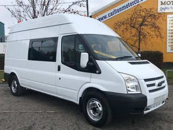 2012 FORD TRANSIT 2.2 350 LWB H/ROOF [ WELFARE / MESS UNIT+TOLIET ] VAN RWD £9950.00