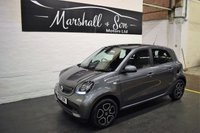 USED 2017 17 SMART FORFOUR 0.9 PRIME PREMIUM T 5d AUTO 90 BHP BEST VALUE PRIME AUTO IN THE UK - LEATHER - NAV - HEATED SEATS - CRUISE CONTROL