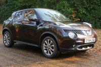 2014 NISSAN JUKE 1.2 TEKNA DIG-T 5d 115 BHP £8495.00