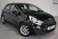 2014 KIA RIO 1.1 CRDI VR7 ECODYNAMICS 5d 74 BHP £6750.00