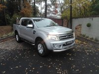 USED 2015 65 FORD RANGER 2.2 LIMITED 4X4 DCB TDCI  Satellite Navigation, Heated Seats, Reverse Camera