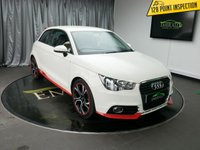 USED 2011 61 AUDI A1 1.4 TFSI COMPETITION LINE 3d 122 BHP £0 DEPOSIT FINANCE AVAILABLE,NAVIGATION SYSTEM,  MULTIFUNCTIONAL LEATHER STEERING WHEEL, ALARM + IMMOBILISER, ELECTRIC ADJUSTABLE DOOR MIRRORS, FRONT SPORTS SEATS,ELECTRONIC STABILITY PROGRAM.