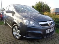 USED 2007 57 VAUXHALL ZAFIRA 1.6 CLUB 16V 5d 105 BHP **Low Mileage 7 Seater Extensive History 12 Months Mot**