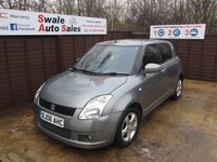 USED 2006 06 SUZUKI SWIFT 1.2 DDIS 5d 69 BHP FINANCE AVAILABLE FROM £21 PER WEEK OVER TWO YEARS - SEE FINANCE LINK
