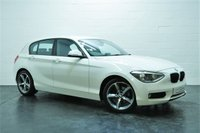 USED 2011 61 BMW 1 SERIES 2.0 120D SE 5d 181 BHP 1 FORMER KEEPER + BLUETOOTH TELEPHONE