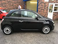 USED 2013 63 FIAT 500 1.2 LOUNGE 3d 69 BHP Only 38,000 Miles, Only £30 Road Tax, Low Insurance Group, Alloy Wheels.