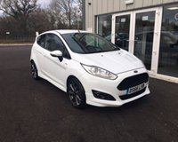 USED 2016 66 FORD FIESTA 1.0 ST-LINE ECOBOOST (140ps) 3d NAVIGATION THIS VEHICLE IS AT SITE 2 - TO VIEW CALL US ON 01903 323333