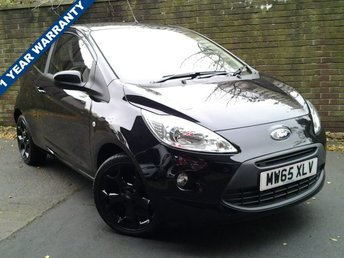 2015 FORD KA 1.2 ZETEC BLACK EDITION 3d 69 BHP £6189.00