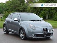 USED 2011 61 ALFA ROMEO MITO 1.4 TB MULTIAIR QUADRIFOGLIO VERDE 3d 170 BHP