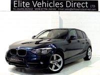 2012 BMW 1 SERIES 1.6 116I SPORT 5d 135 BHP £8491.00