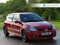 USED 2005 55 RENAULT CLIO 2.0 RENAULTSPORT 182 TROPHY 16V 3d 182 BHP