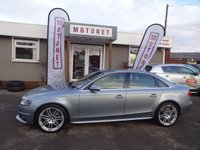 2010 AUDI A4 2.0 TDI S LINE SPECIAL EDITION 4DR DIESEL 141 BHP £7888.00