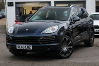 "USED 2010 60 PORSCHE CAYENNE 3.0 S HYBRID TIPTRONIC S 5d AUTO 333 BHP ** HUGE SPEC ** PAN ROOF * 21"" TURBO ALLOYS * SAT-NAV * LEATHER * BOSE *"