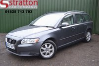 USED 2007 57 VOLVO V50 2.0 D S 5d 135 BHP High Quality hand picked cars by Stratton Car Company Uckfield Sussex - 01825 713 793