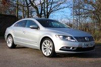2013 VOLKSWAGEN CC 2.0 GT TDI BLUEMOTION TECHNOLOGY DSG 4d AUTO 138 BHP £11250.00
