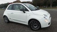 USED 2012 62 FIAT 500 1.2 C POP 3d 69 BHP VEHICLE SPEC : FULL SERVICE HISTORY, ELECTRIC ROOF, AIR-CONDITIONING, CD-PLAYER, REMOTE LOCKING, ELECTRIC WINDOWS, ALLOY WHEELS, ELECTRIC MIRRORS, WHITE, LOW TAX BAND, ECONOMICAL