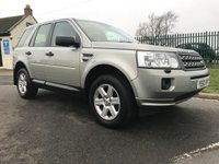 2010 LAND ROVER FREELANDER 2.2 TD4 GS 4X4 AUTO 1 OWNER FSH VERY WELL LOOKED AFTER CAR  £7995.00