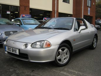 1997 HONDA CIVIC 1.6 CRX ESI 2d 124 BHP £SOLD