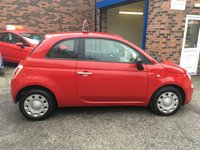 USED 2013 13 FIAT 500 1.2 POP 3d 69 BHP Only £30 Road Tax & 36,000 Miles, Ideal first car as Low Insurance Group !!!