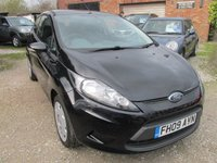 USED 2009 09 FORD FIESTA 1.4 STYLE PLUS TDCI 3d 68 BHP EXCELLENT FUEL MPG LOW TAX