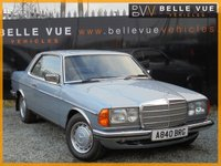 USED 1984 A MERCEDES-BENZ 230 2.3 230 CE 2d AUTO 136 BHP *STUNNING CLASSIC MERCEDES COUPE*
