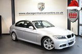 USED 2010 60 BMW 3 SERIES 2.0 318D M SPORT 4DR 141 BHP excellent service history TITAN METALLIC SILVER WITH BLACK CLOTH UPHOLSTERY + EXCELLENT SERVICE HISTORY - 8 SERVICES + BLUETOOTH + CRUISE CONTROL + LIGHT PACKAGE + SPORT SEATS + PARKING SENSORS + 17 INCH ALLOY WHEELS