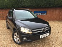 2011 VOLKSWAGEN TIGUAN 2.0 ESCAPE TDI BLUEMOTION TECHNOLOGY 4MOTION 5d 138 BHP £10995.00