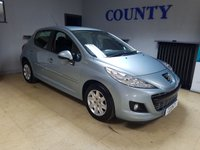 USED 2011 61 PEUGEOT 207 1.4 ACTIVE 5d 74 BHP * TWO OWNERS * 12 MONTHS MOT *