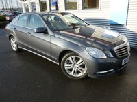 2012 MERCEDES-BENZ E CLASS 2.1 E220 CDI BLUEEFFICIENCY EXECUTIVE SE 4d AUTO 170 BHP £10480.00