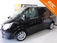 USED 2014 64 FORD TRANSIT CUSTOM 2.2 290 SPORT LR P/V 1d 153 BHP FORD TRANSIT SPORT MODEL WITH EVERY OPTIONAL EXTRA inc REVERSING CAMERA, FULL HEATED  LEATHER TRIM, PARKING SENSORS,LAND ASSIST CRUISE CONTROL, AIR CON  UPGRADED ALLOY WHEELS, 155 bhp, EXCELLENT VALUE FOR MONEY IN THIS CONDITION AND WITH THIS SPEC AND SERVICE HISTORY, THIS VAN HAS BEEN VERY WELL LOOKED AFTER AND MAINTAINED WITH NO EXPENSE SPARED, COMES WITH MAIN DEALER  SERVICE HISTORY, 4 STAMPS VERY RARE VAN
