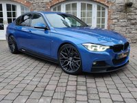 2016 BMW 3 SERIES 3.0 330D M SPORT 4d AUTO 255 BHP £18950.00