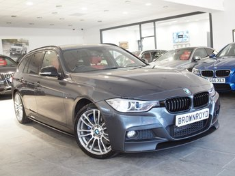 2013 BMW 3 SERIES 2.0 320D XDRIVE M SPORT TOURING 5d AUTO 181 BHP £14890.00