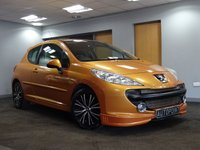 USED 2007 57 PEUGEOT 207 1.6 SPORT 3d 118 BHP FACTORY BODYKIT++LOW INSURANCE GROUP++