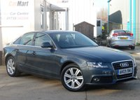 USED 2009 09 AUDI A4 2.0 TDI SE 4d 143 BHP FULL SERVICE HISTORY & ONLY ONE OWNER FROM NEW