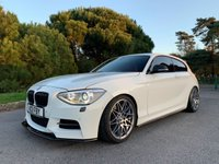 USED 2012 BMW 1 SERIES 3.0 M135I PERFORMANCE  3d 316 BHP STUNNING SPEC, ALPINE WHITE, FSH, FAST!!! PRACTICAL!!! THE ULTIMATE M135, DONT MISS OUT!!!