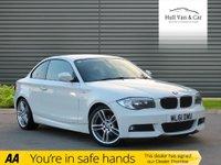 2012 BMW 1 SERIES 2.0 120D M SPORT 2d 175 BHP £8495.00