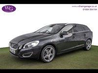 USED 2013 13 VOLVO V60 2.4 D5 SE LUX NAV 5d AUTO 212 BHP