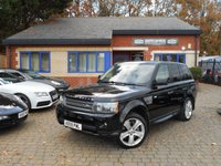 USED 2009 59 LAND ROVER RANGE ROVER SPORT 5.0 V8 HSE 5d AUTO 510 BHP RARE 5.0 V8 HSE SUPER CHARGED! FULL SERVICE HISTORY! CREAM LEATHER!