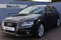 USED 2011 11 AUDI A3 2.0 SPORTBACK TDI S LINE 5d 138 BHP Excellent Condition with Very Low Mileage, S-Line Specification with Sports Part Leather Seats, S-Tronic Automatic Gearbox, Dual Climate Control, Upgraded Alloys