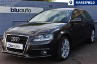 USED 2011 11 AUDI A3 2.0 SPORTBACK TDI S LINE 5d 138 BHP Excellent Condition, Low Mileage, S-Line Specification with Sports Part Leather Seats, S-Tronic Automatic Gearbox, Dual Climate Control, Upgraded Alloys
