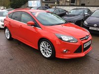 USED 2013 63 FORD FOCUS 1.6 ZETEC S TDCI 5d 113 BHP FULL APPEARANCE PACK BODYKIT WITH BOOT SPOILER,PRIVACY GLASS,FRONT SPLITTER,ETC