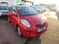 USED 2007 57 TOYOTA YARIS 1.3 TR VVTI 5d 86 BHP 5 DOOR LOW MILEAGE