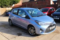 USED 2015 64 TOYOTA YARIS 1.3 VVT-I ICON 5d 99 BHP **** £30 ROAD TAX * BLUETOOTH * REVERSE CAMERA * AIR CONDITIONING ****