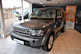 2011 LAND ROVER DISCOVERY 4 3.0 4 TDV6 HSE 5d AUTO 245 BHP £19990.00